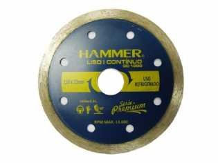 DISCO DIAMANTADO HAMMER LISO