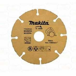 DISCO DE TUNGSTÊNIO MAKITA MAD 110X20MM