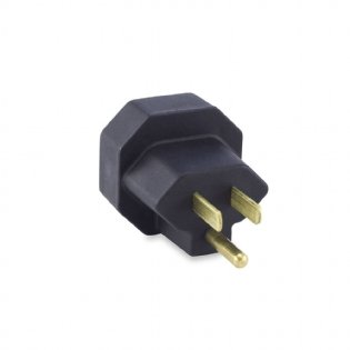 PINO ADAPTADOR 15A PRETO FORCE LINE