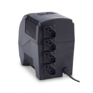 Estabilizador Monovolt 300VA Eternity Preto Force Line