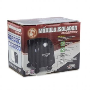 ESTABILIZADOR EVOLUTION III MÓDULO ISOL. 440VA PRETO FORCE LINE