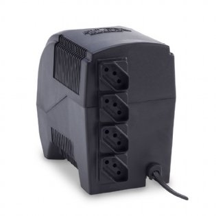 ESTABILIZADOR ETERNITY - MONO 600VA  115V PRETO FORCE LINE